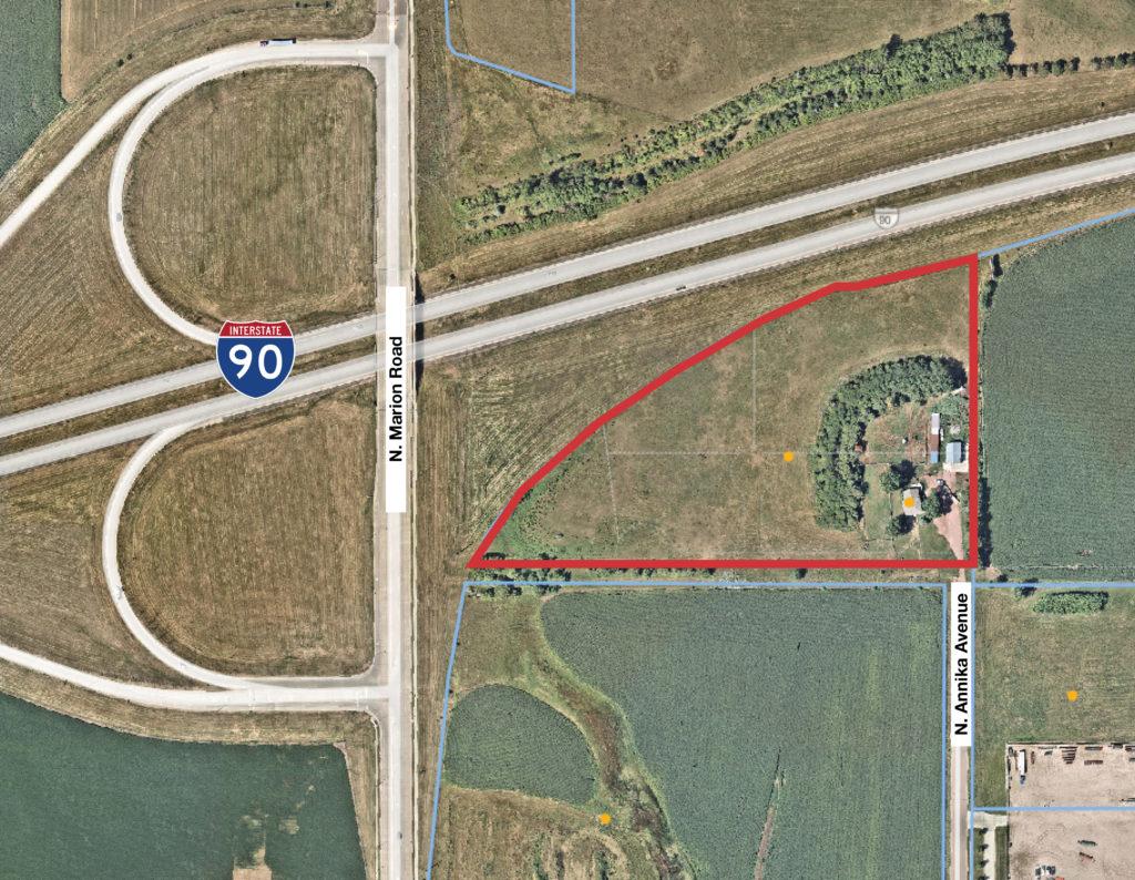 I-90 & Marion Road Land