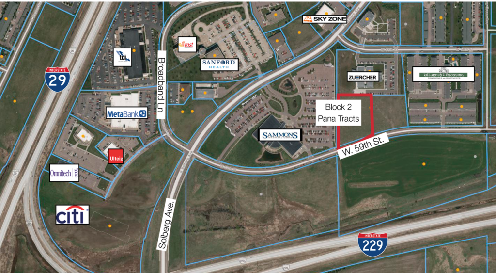 Interstate Crossing Business Park - Pana Tracts Lot 2, Block 2